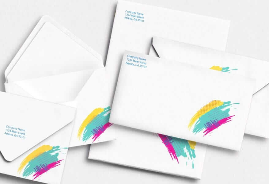Printed-envelopes